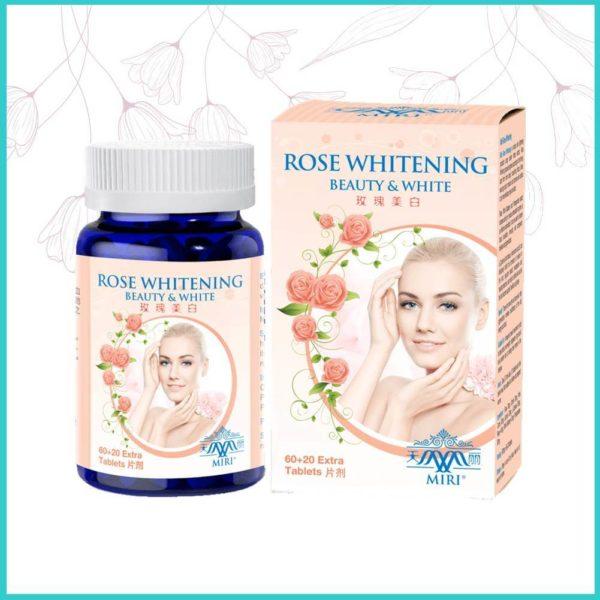 rose whitening